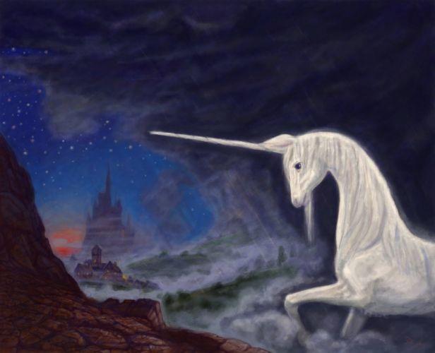 unicorn horse magical animal yq wallpaper