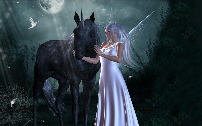 Unicorn horse magical animal fairy g wallpaper | 1440x900 ...