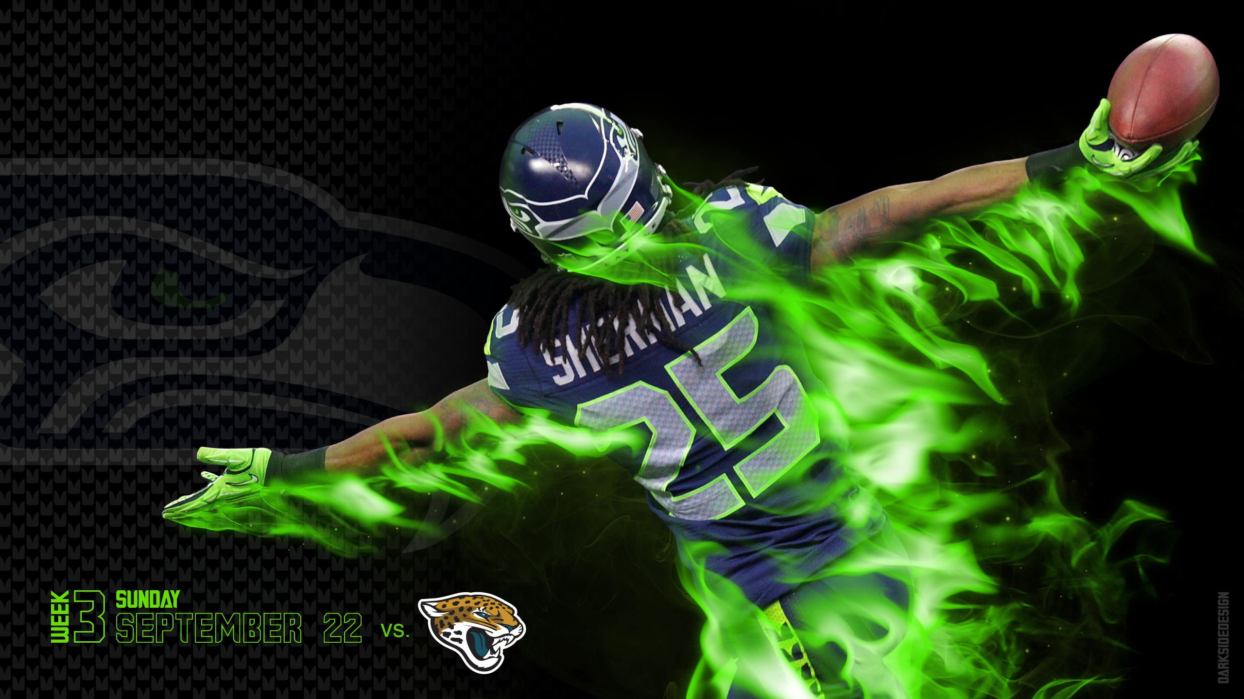 SEATTLE SEAHAWKS football nfl we wallpaper | 2560x1440 | 172633
