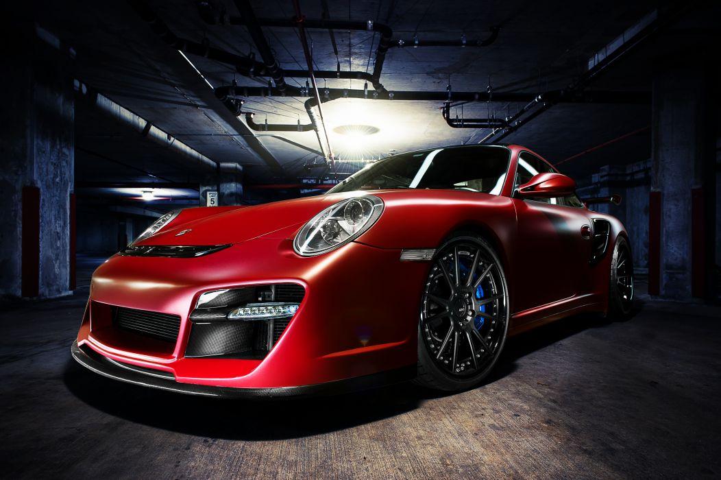 ADV_1 Fishy Red Porsche wallpaper