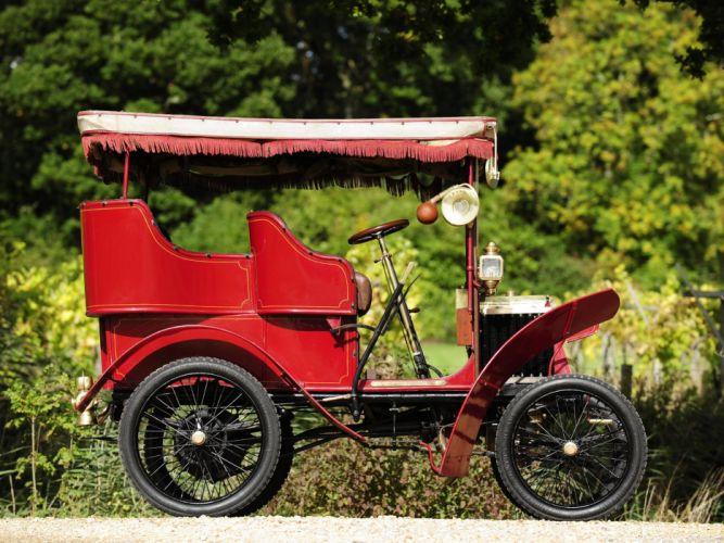 1901 Renault Type-D Rear-entrance Tonneau retro g wallpaper