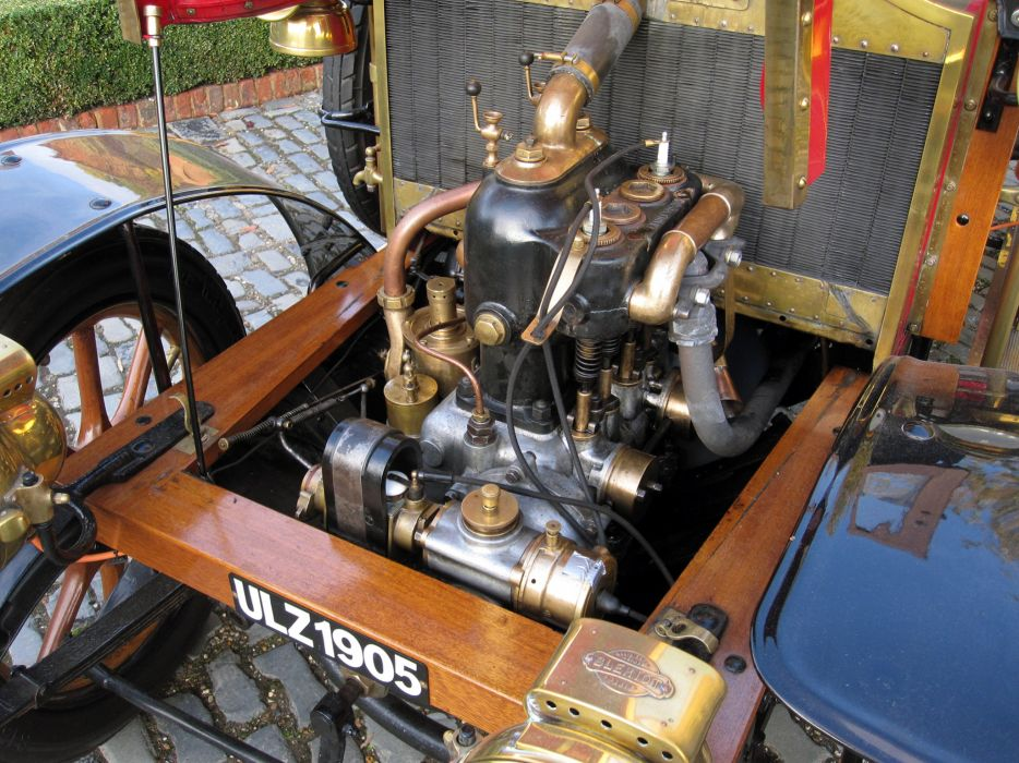 1905 Renault Type-YA 10HP Roi-des-Belges Double Phaeton retro engine      h wallpaper