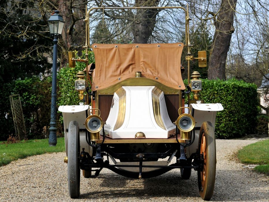1908 Renault Type-AX Phaeton retro  tg wallpaper