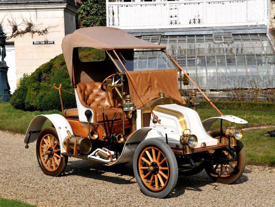 1908 Renault Type-AX Phaeton retro   hf wallpaper