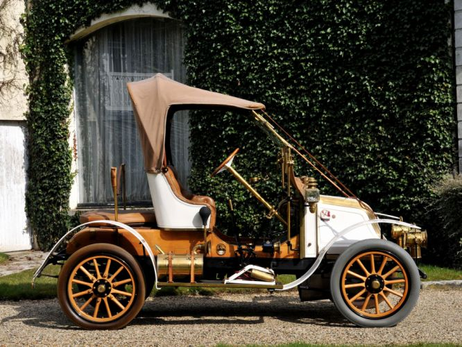 1908 Renault Type-AX Phaeton retro h wallpaper