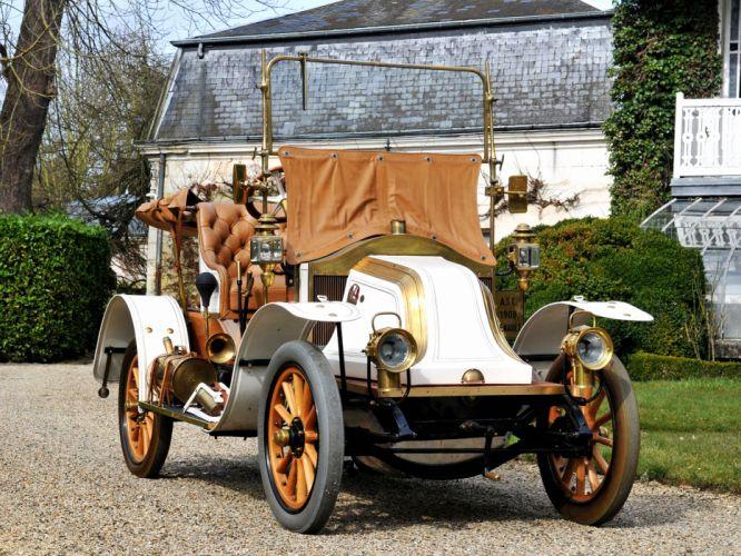 1908 Renault Type-AX Phaeton retro j wallpaper
