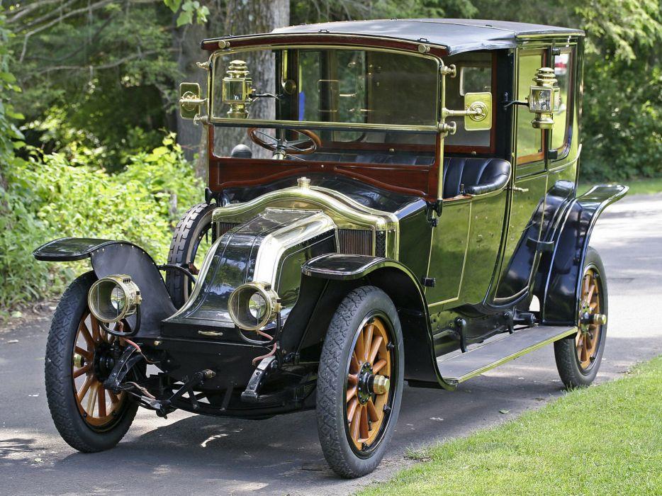 1912 Renault Type-CB Coupe de Ville by Kellner-et-ses-Fils retro luxury  g wallpaper