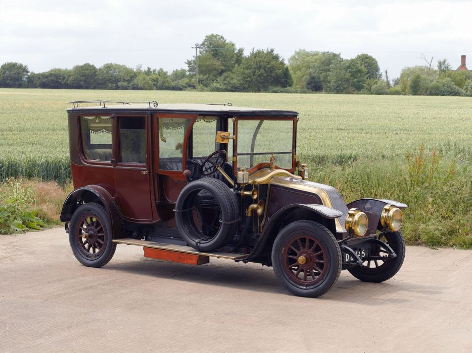 1912 Renault Type-CE 20-30HP Limousine retro luxury       g wallpaper