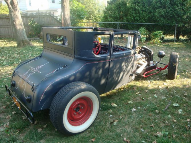 1927 Ford Model-T Coupe ratrod hot rod rods retro f wallpaper