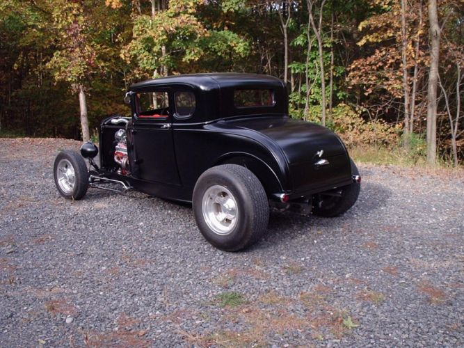 1930 Ford Coupe hot rod rods retro g wallpaper