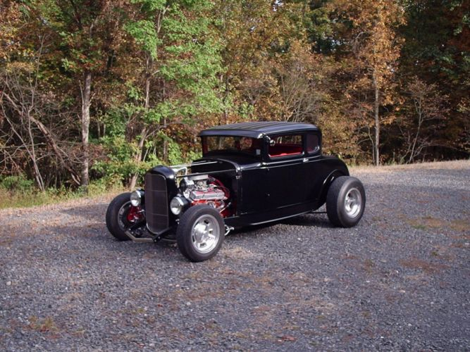1930 Ford Coupe hot rod rods retro t wallpaper