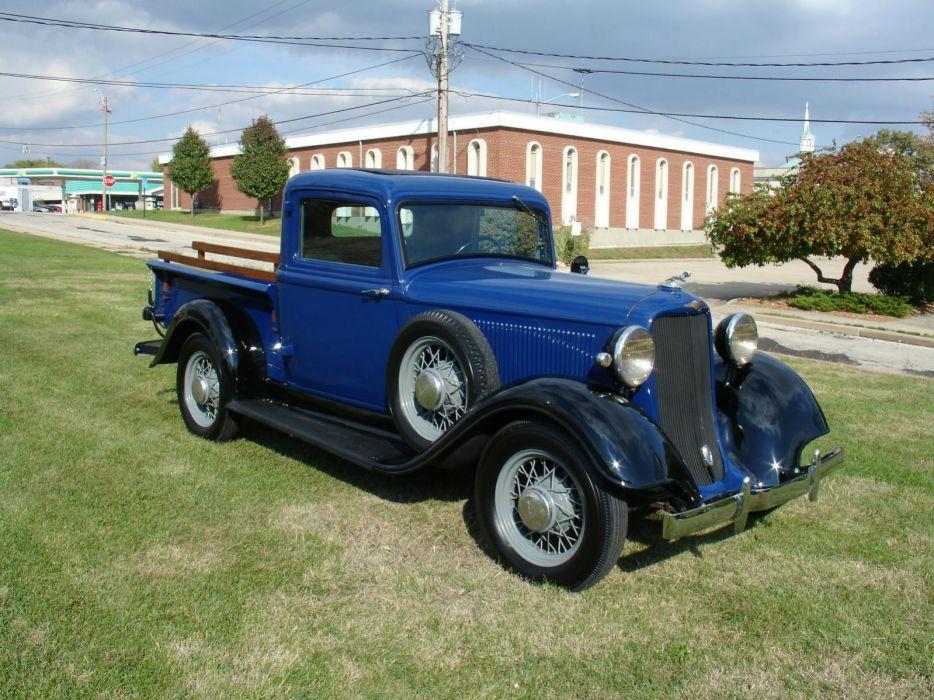 1934 dodge pickup retro      g wallpaper