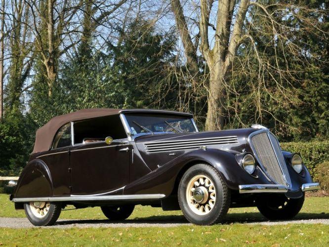 1935 Renault Nervastella Grand Sport Cabriolet (ABM3) retro l wallpaper