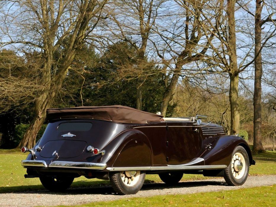1935 Renault Nervastella Grand Sport Cabriolet (ABM3) retro   h wallpaper