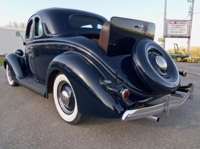 1936 Ford 5W Rumbleseat Coupe retro g wallpaper