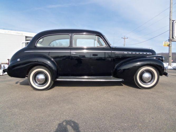 1940 Chevrolet Special DeLuxe Town Sedan retro h wallpaper