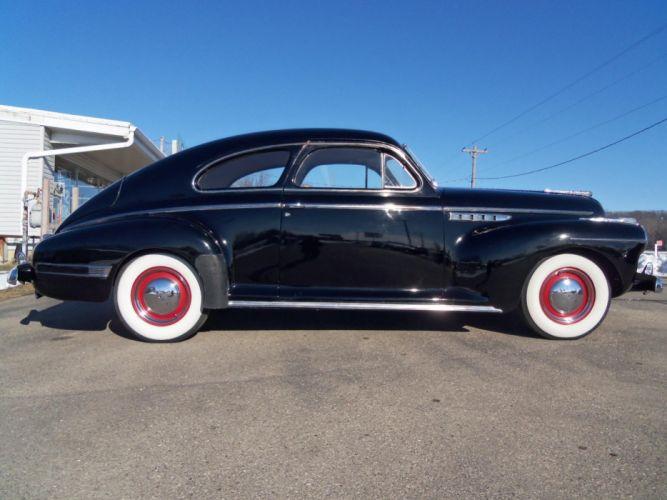 1941 Buick Special Sedanette retro g wallpaper