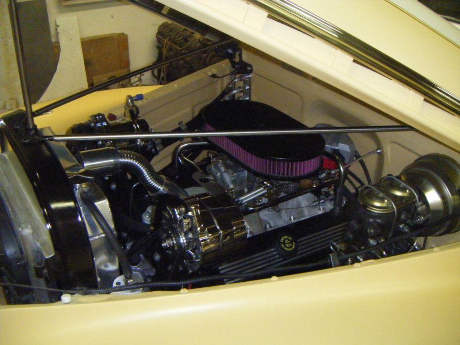 1941 ChevyTwo Door Sedan hot rod rods retro custom lowrider engine     f wallpaper