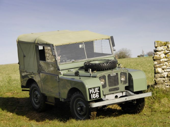 1948 Land Rover Series-I80 SoftTop 4x4 offroad retro military y wallpaper