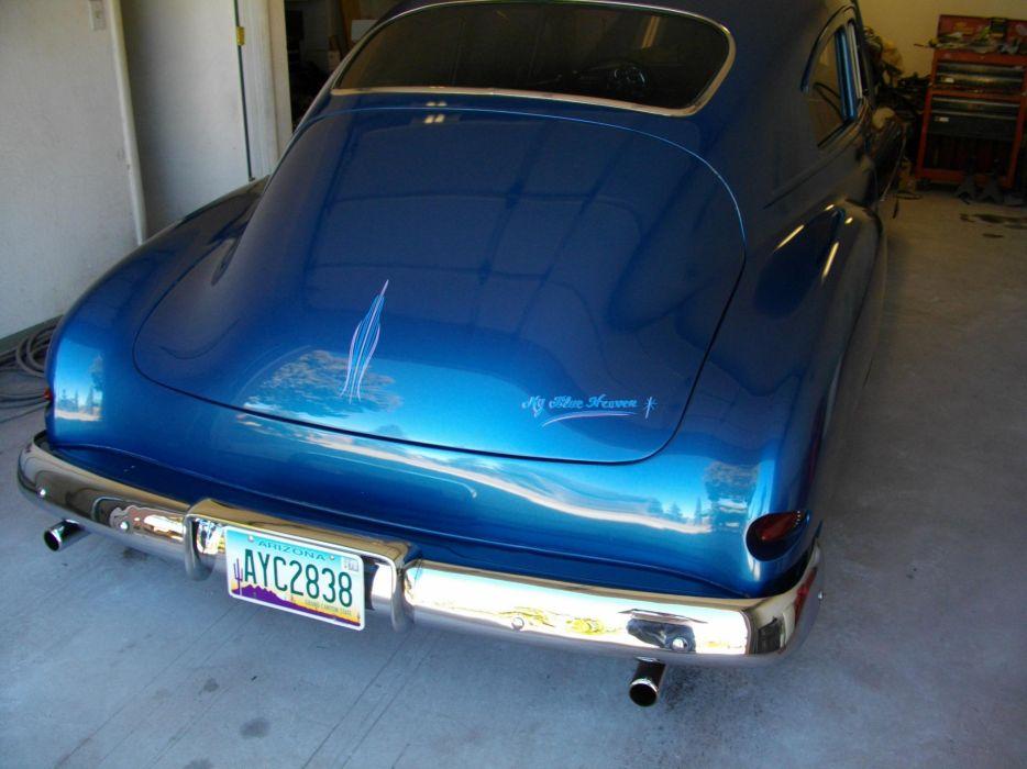 1950 Chevrolet Fleetline 2dr hot rod rods retro lowrider custom   f wallpaper