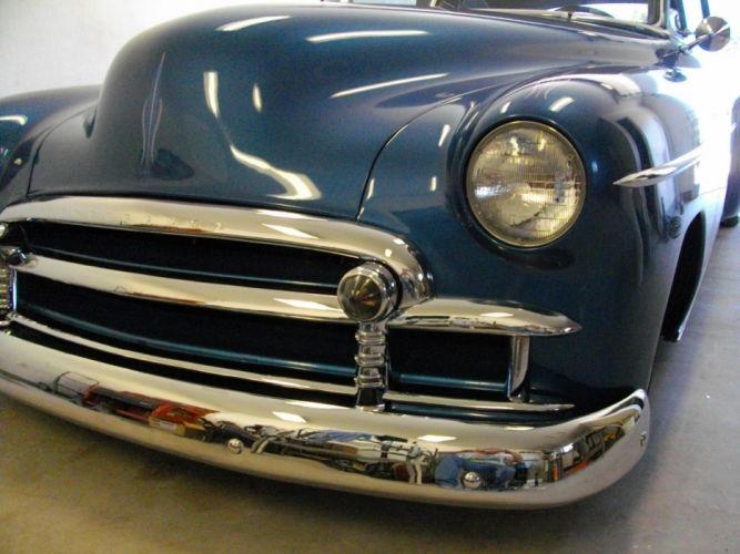 1950 Chevrolet Fleetline 2dr hot rod rods retro lowrider custom fw wallpaper