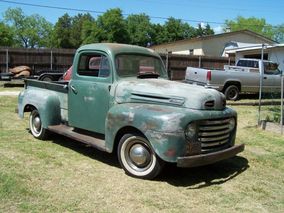 Craigslist Ford F100 For Sale >> 1950 F1 Ford pickup retro f-1 f wallpaper | 1551x1163 | 172890 | WallpaperUP