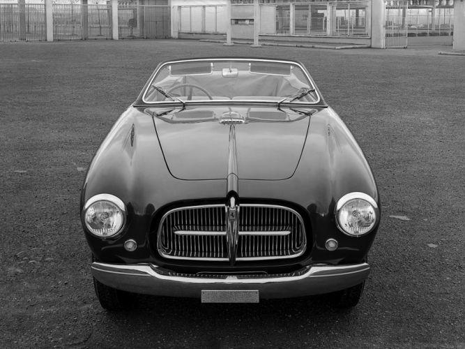 1950 Ferrari 212 Inter Cabriolet supercar retro f wallpaper