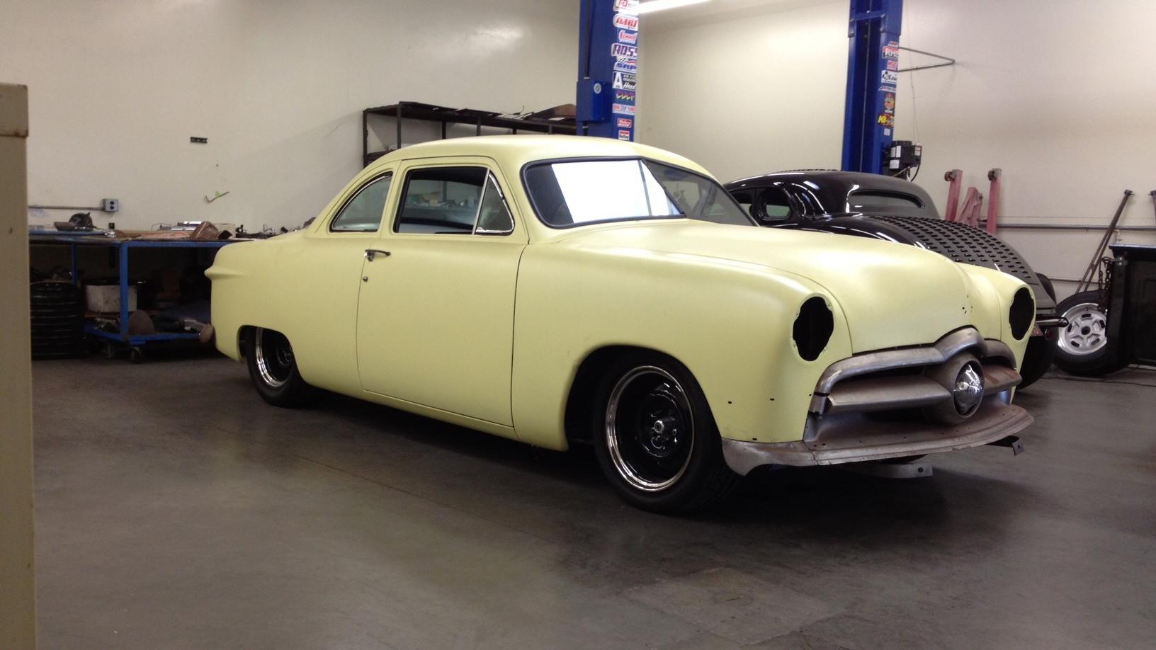 1950 Ford shoebox coupe hot rod rods lowrider custom retro r wallpaper ...