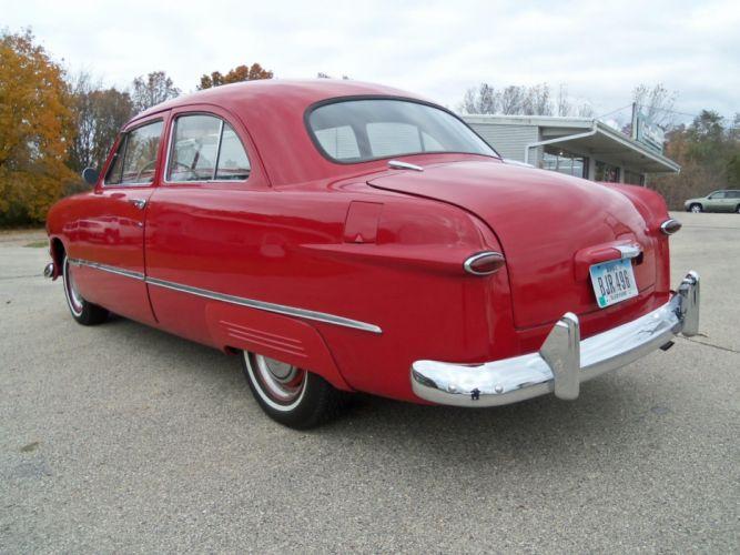 1950 Ford Tudor Sedan retro g wallpaper