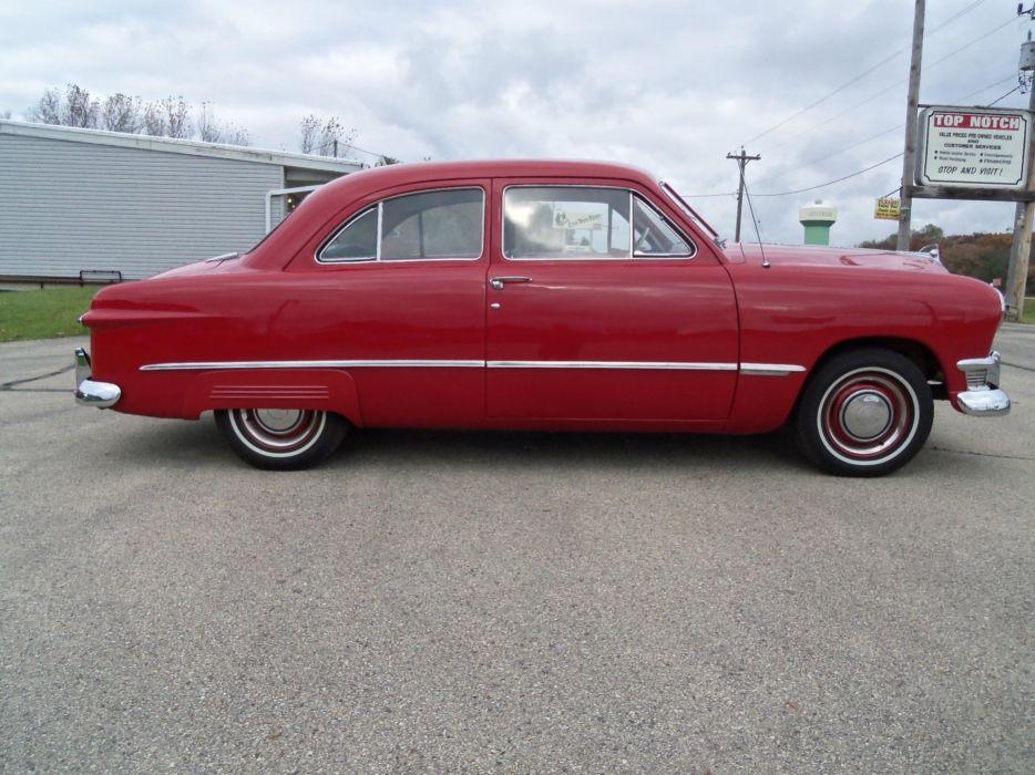 1950 Ford Tudor Sedan retro       h wallpaper