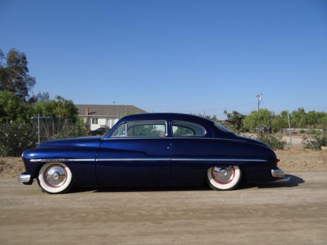 1950 Mercury Coupe lowrider retro e wallpaper