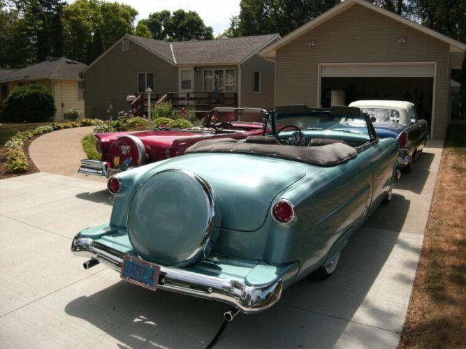 1952 ford convertible sunliner lowrider custom hot rod rods retro e wallpaper