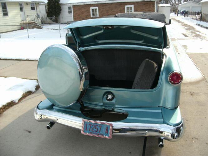 1952 ford convertible sunliner lowrider custom hot rod rods retro interior g wallpaper