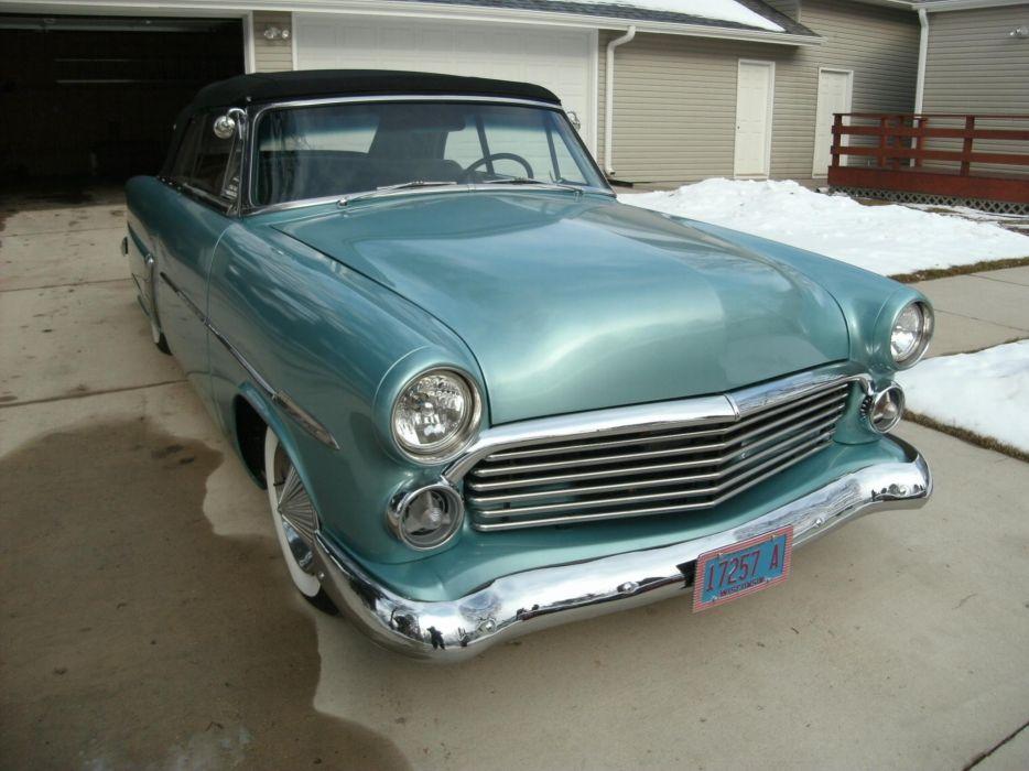 1952 ford convertible sunliner lowrider custom hot rod rods retro b wallpaper
