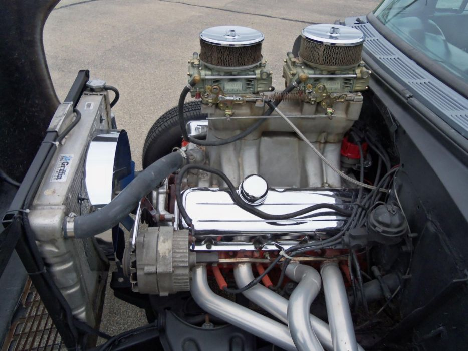 1955 Chevy 210 TwoLane Blacktop hot rod rods drag racing race retro engine     g wallpaper