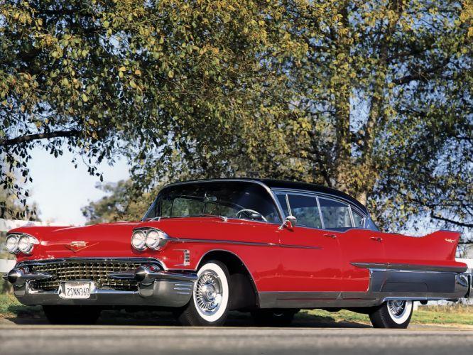 1958 Cadillac Fleetwood Sixty Special luxury retro g wallpaper