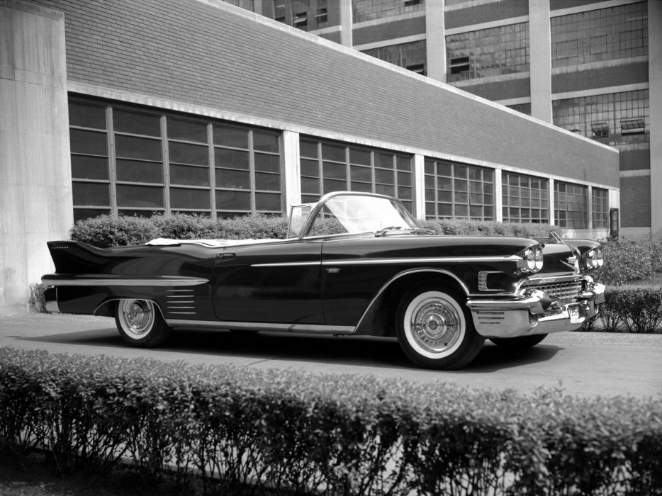 1958 Cadillac Sixty-Two Convertible (6267X) luxury retro      h wallpaper