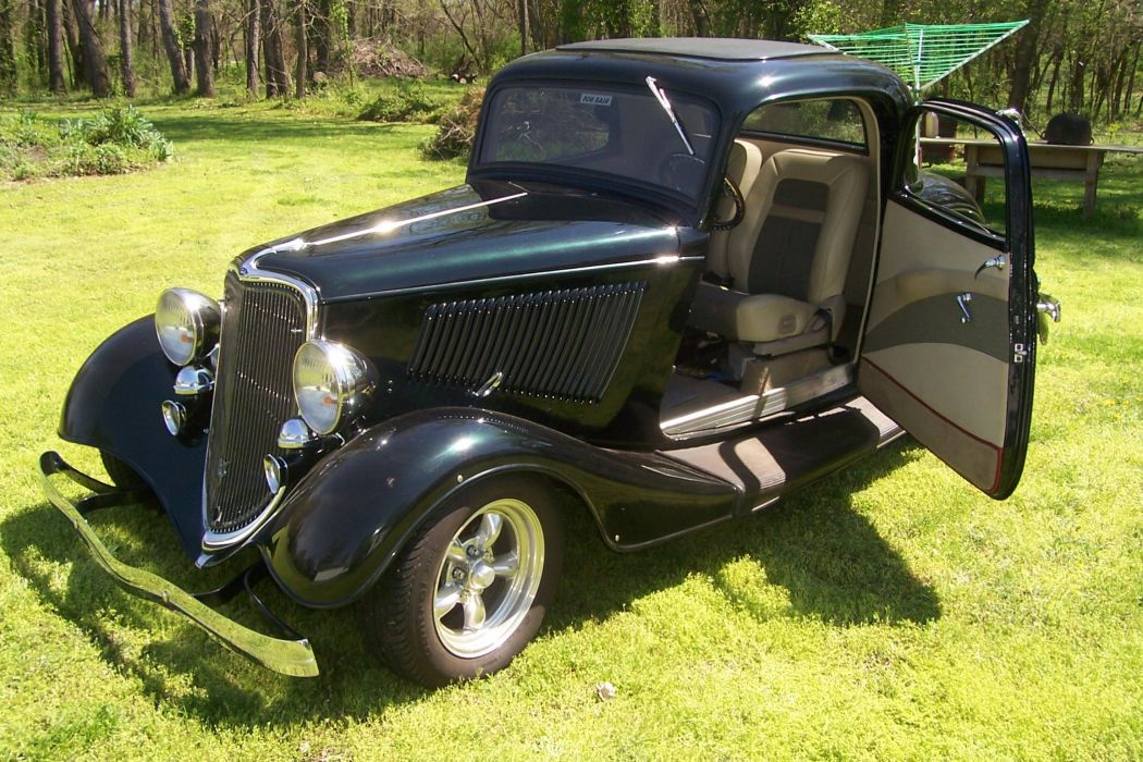 1933 Ford hot rod rods retro    y wallpaper