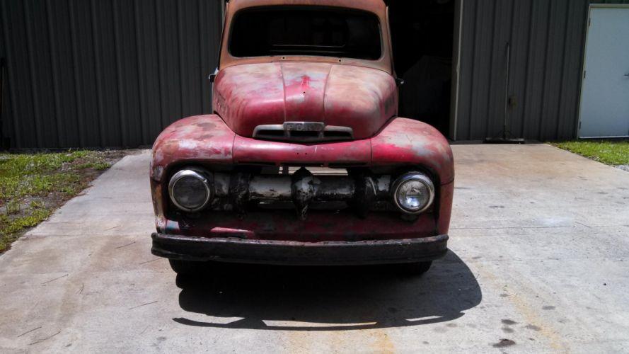1950 Ford truck hot rod rods retro pickup retro tr wallpaper