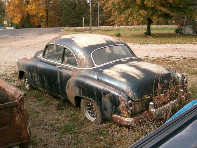 1952 Chevrolet Coupe retro h wallpaper