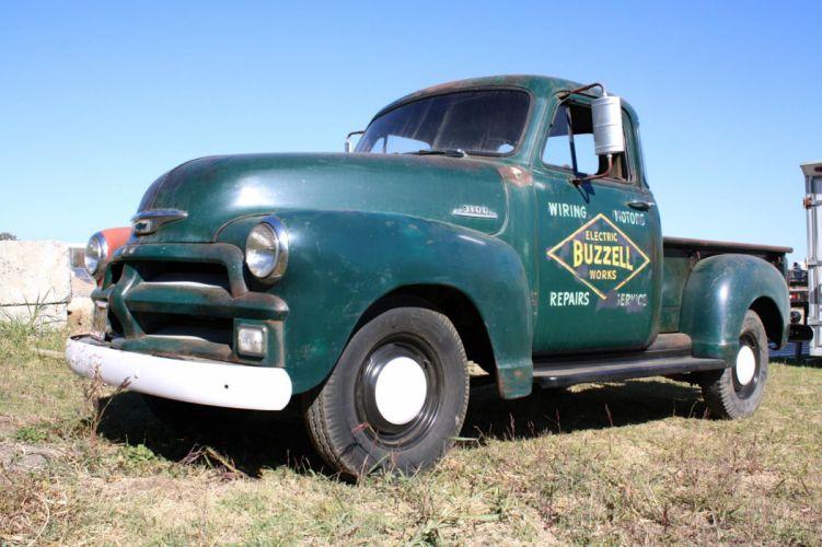 1954 Chevrolet pickup retro g wallpaper