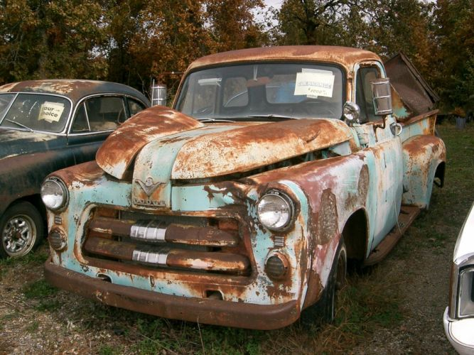 1954 Dodge Pickup retro h wallpaper