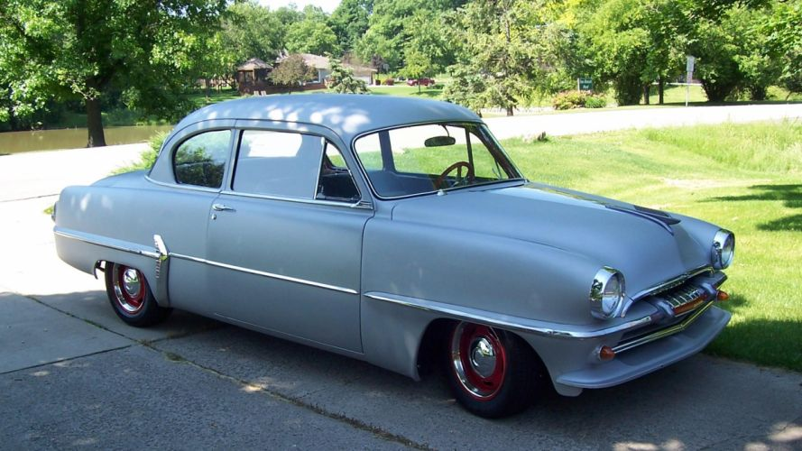 1954 Plymouth Hot Rod Rods Retro Lowrider H Wallpaper