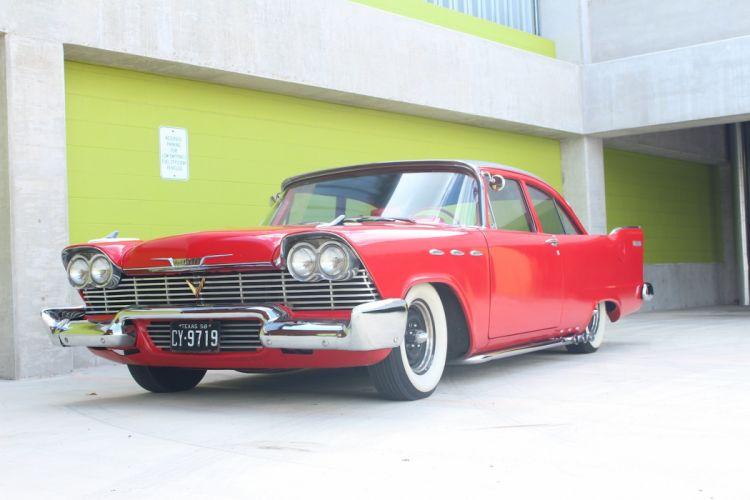 1958 Plymouth Custom hot rod rods retro g_JPG wallpaper