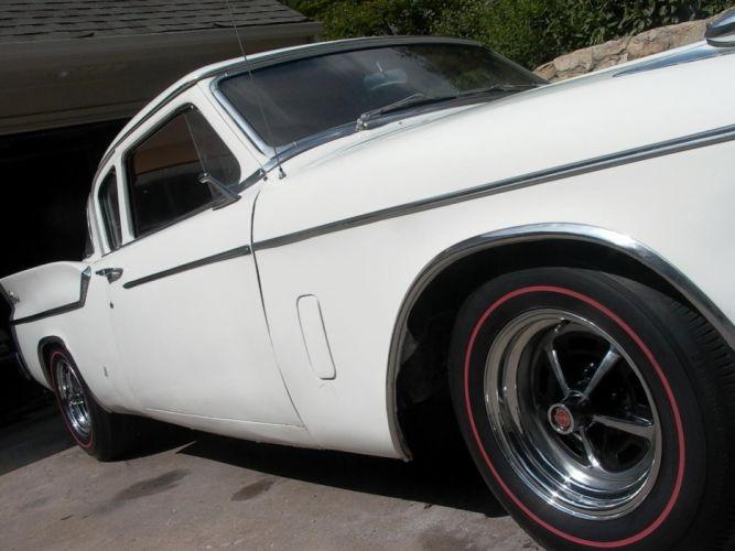 1959 Silver Hawk Studebaker retro wheel j wallpaper