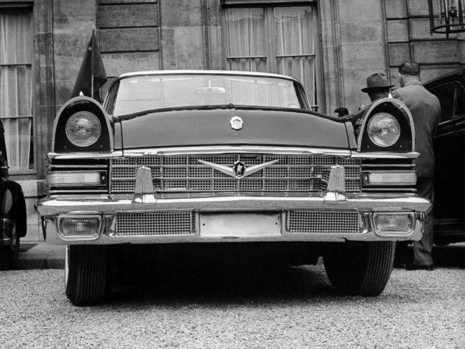 1960 ZIL 111V classic luxury h wallpaper