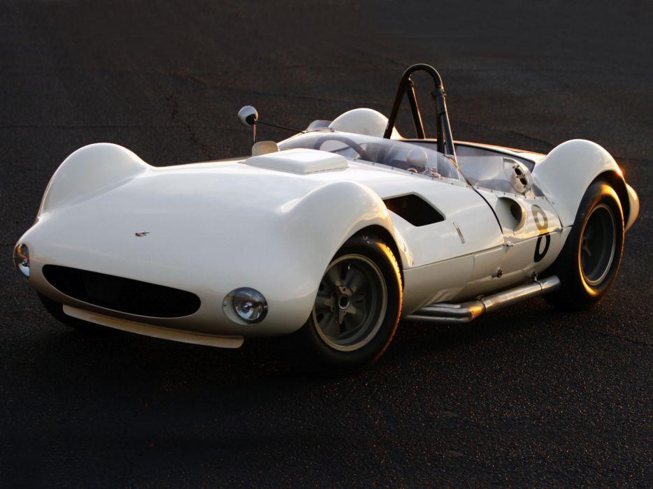 1961 Chaparral 1 supercar race racing classic       f wallpaper