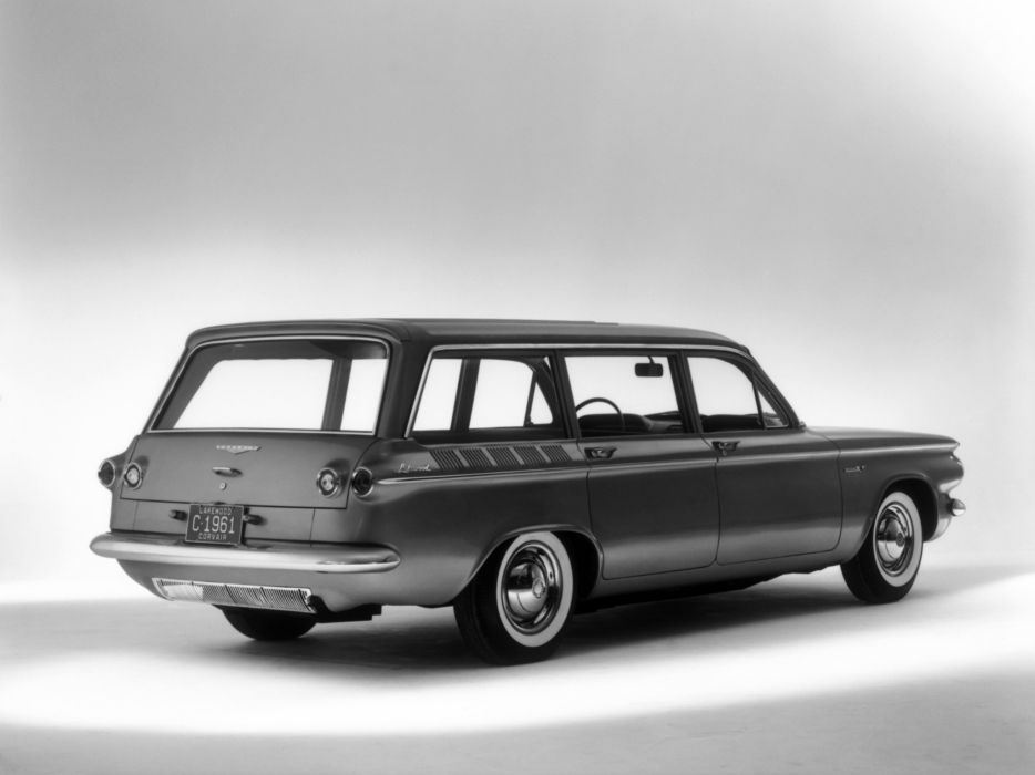 1961 Chevrolet Corvair 700 Lakewood (07-35) stationwagon classic        g wallpaper