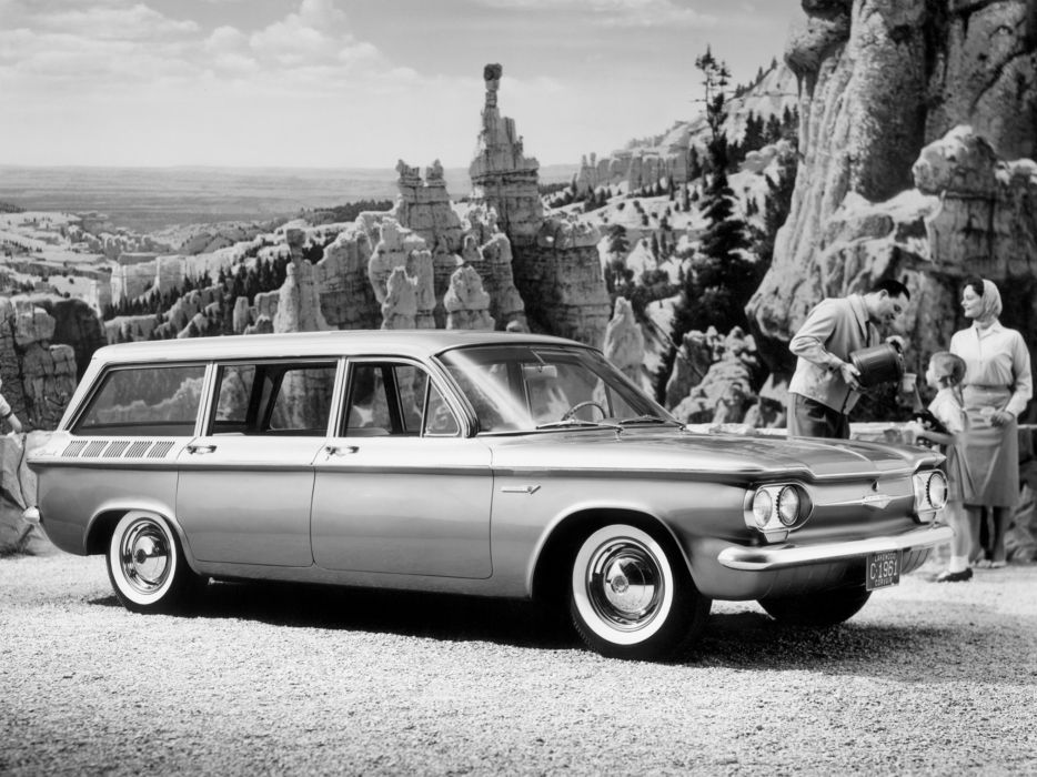 1961 Chevrolet Corvair 700 Lakewood (07-35) stationwagon classic    e wallpaper