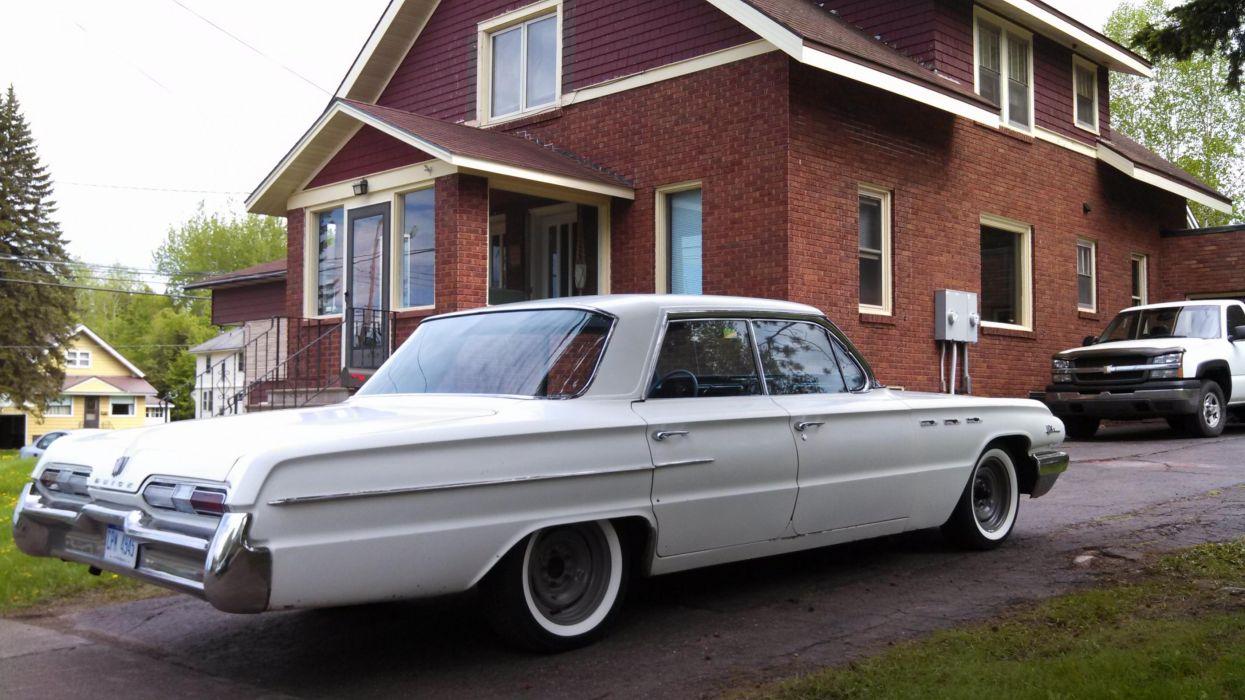 1962 Buick LeSabre 401 Nailhead classic   gd wallpaper
